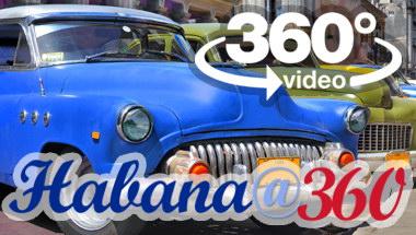 La Habana Cuba: vuelta en almendron 360 grados