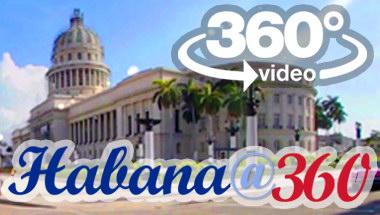 La Habana Cuba: vuelta en carro 360 grados