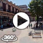 Habana Cuba: Boulevard de San Rafael video 360 grados panorámicos