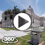 Habana Cuba: Capitolio video 360 grados panorámicos