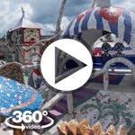 Habana Cuba: Casa Fuster (Fusterlandia) Jaimanitas video 360 grados panorámicos