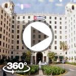 Habana Cuba: Hotel Nacional video 360 grados panorámicos