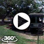 Habana Cuba: Parque de los Agrimensores video 360 grados panorámicos