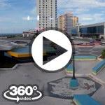 Habana Cuba: Fuente de la juventud, Galerias Paseo, Meliha Cohiba, Hotel Riviera video 360